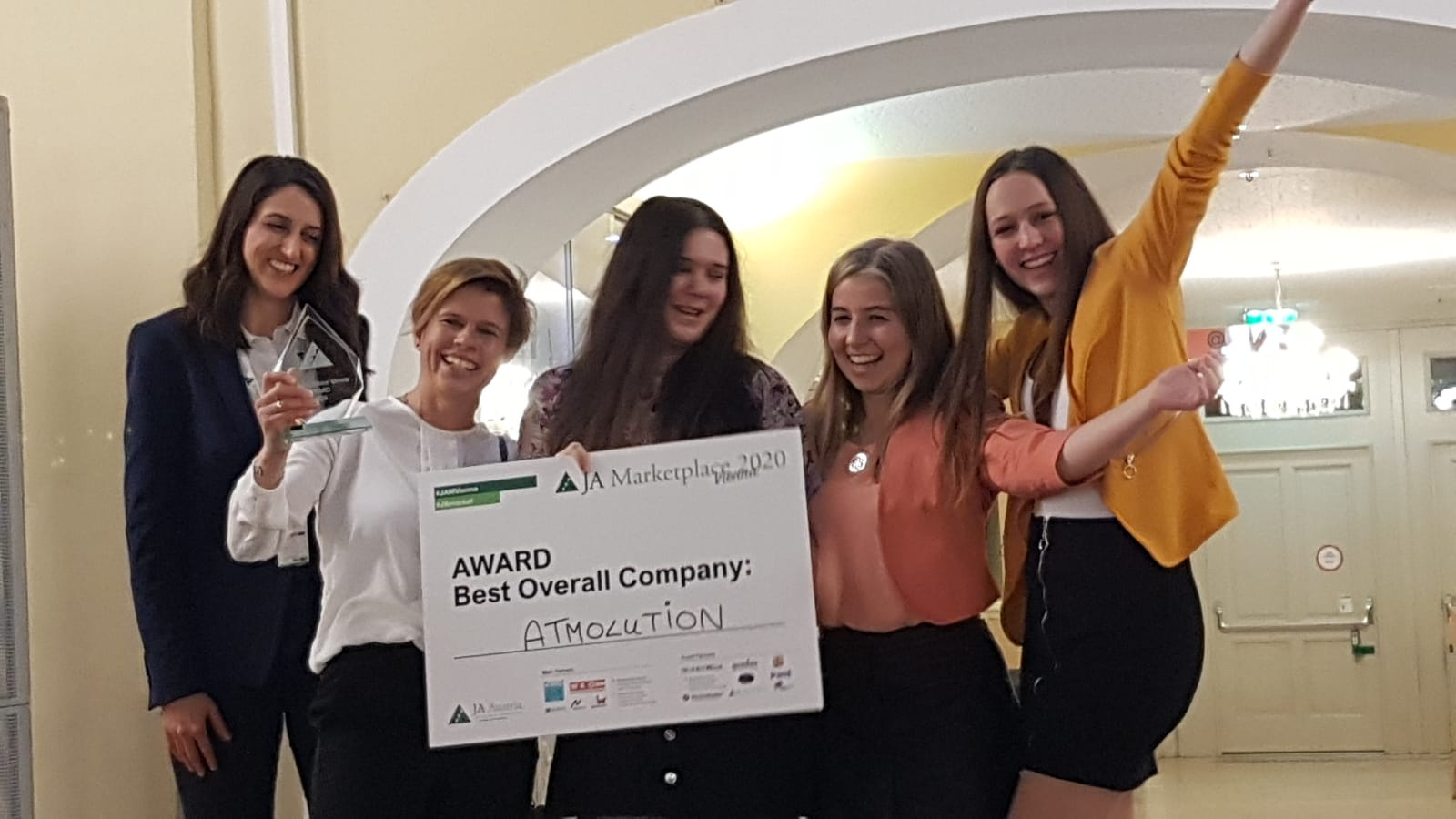 Best Overall Company JA Marketplace 2020 Atmolution